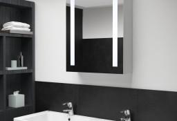 vidaXL Szafka łazienkowa z lustrem i LED, 50 x 13 x 70 cm285117