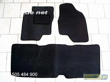Toyota Previa 2000-2006 2 rzędy najwyższej jakości dywaniki samochodowe z grubego weluru z gumą od spodu, dedykowane Toyota Previa-1