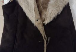 (42/XL) Futrzana kamizelka, kożuszek, bezrękawnik , futerko z Wiednia
