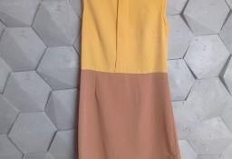 sukienka Atmosphere, r.36 musztardowo-brązowa