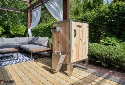 elektryczna wędzarnia ogrodowa, Producent, BBQ, 110l, prosta obsługa, izolowana