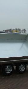 Przyczepa wywrotka hydrauliczna marki Debon Cheval Liberte Przyczepa trójstronna Przyczepa z burtami aluminiowymi-4