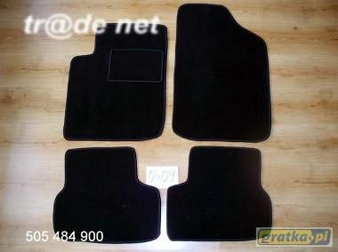 Citroen C3 Pluriel od 2002r. coupe najwyższej jakości dywaniki samochodowe z grubego weluru z gumą od spodu, dedykowane Citroen C3-1