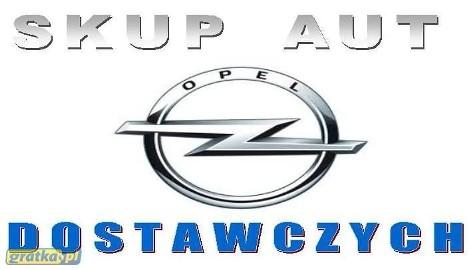 Opel Movano SKUP AUT DOSTAWCZYCH