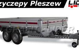 TM-084 przyczepa Transporter 3217/2C, 325x171x30cm, ciężarowa, towarowa, burty aluminiowe, DMC 1500kg
