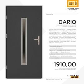 Drzwi wejściowe stalowe SETTO model DARIO PLUS