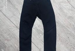 Czarne spodnie KappAhl rozm 122 cm