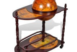 vidaXL Globobar ze stolikiem, drewno eukaliptusowe240699