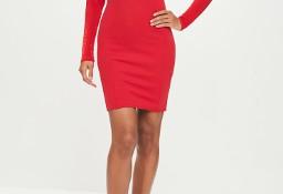 (38/M) ASOS/ Czerwona sukienka ołówkowa z Londynu/ NOWA