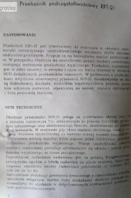 przekaźnik podczęstotliwościowy rft 21-2
