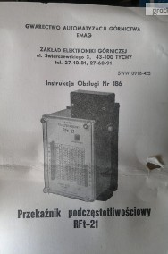 przekaźnik podczęstotliwościowy rft 21-3
