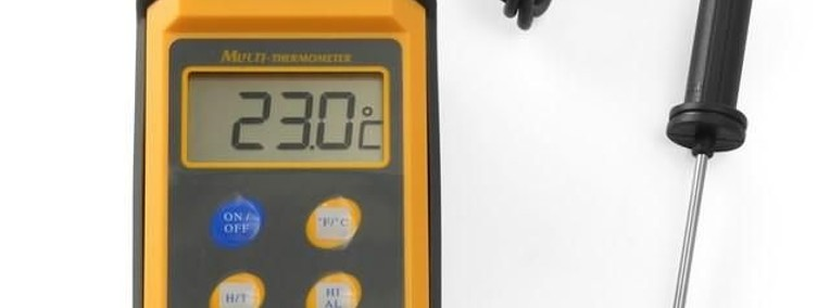 Termometr z sondą na przewodzie od -50°C do 300°C-1