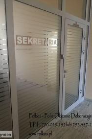 Folie Dekoracyjne Warszawa- Folie na ścianki działowe, okna i drzwi-2