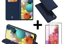 Etui DUX DUCIS + szkło do Samsung S20 FE Granatowy