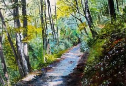 Leśna droga - W.Kowal