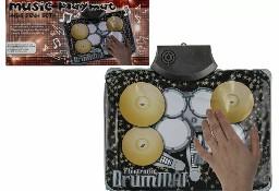 Mata Muzyczna Mini Zestaw Perkusyjny 34x25 cm