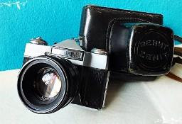 Stary aparat Zenit E + futerał Pomimo lat nadal w pełni sprawny Retro!