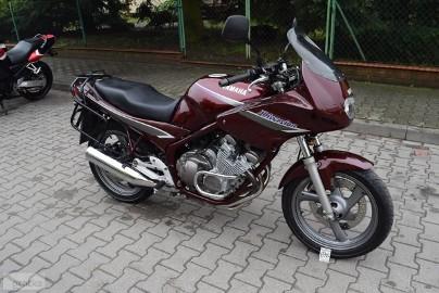 Yamaha XJ 600 Diversion 1 ręka, oryginał, stelaż, dok. na km., z DE***