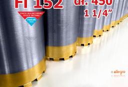 Wiertło 152 mm koronowe diamentowe koronka otwornica wiertnica 1 1/4''