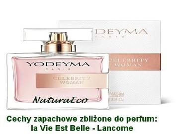 Perfumy Yodeyma CELEBRITY WOMAN sklep NaturaEco.pl
