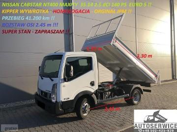 Nissan Cabstar CABSTAR NT400 MAXITY WYWROTKA KIPPER OS 2,45 EURO5