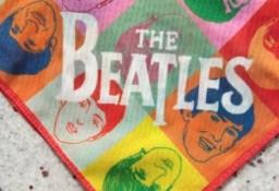 THE BEATLES/ Oryginalna apaszka zespołu The BEATLES z Londynu/perełka VINTAGE