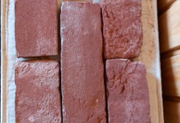 płytka rustykalna czerwona, wymiary 210x65x20 mm., 240 szt. sprzedaż w całości