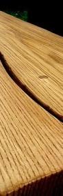 Meble ogrodowe drewniane dębowe ławy i stoły do baru lokalu restauracj-4