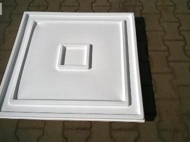 Kuweta z tworzywa 83x83x7cm z pokrywą kolor biały-1
