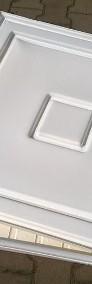 Kuweta z tworzywa 83x83x7cm z pokrywą kolor biały-3