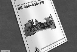 Instrukcja DTR: Tokarka TOS SN-55B, SN-63B, SN-71B