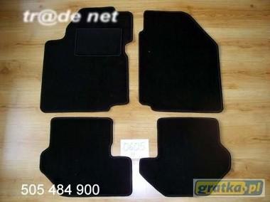 Ford Fiesta MK5 1999-2002 najwyższej jakości dywaniki samochodowe z grubego weluru z gumą od spodu, dedykowane Ford Fiesta-1