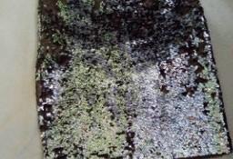 (34/XS) Cekinowa, srebrna spódnica, spódniczka z Londynu