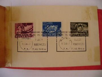 Zeszycik znaczkowy Kongres Jedności Klasy Robotniczej 1948