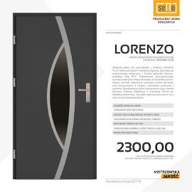 Drzwi wejściowe stalowe SETTO model LORENZO PLUS