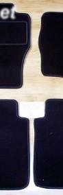 Nissan Navara od 2005r. 2 kabiny najwyższej jakości dywaniki samochodowe z grubego weluru z gumą od spodu, dedykowane Nissan Navara-4