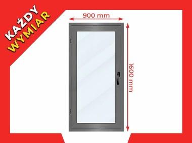 Okno Witryna Aluminiowa Zimna 900x1600 Drzwi Aluminiowe Dowolny Wymiar-1