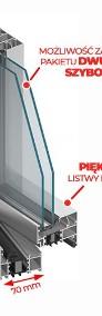 Okno Witryna Aluminiowa Zimna 900x1600 Drzwi Aluminiowe Dowolny Wymiar-3