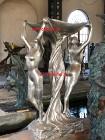Fontanna z brązu 2 Ladys Unikat H200cm