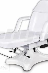 Fotel kosmetyczny łóżko do masażu wytrzymałe białe-2