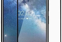 Szkło hartowane na cały ekran z ramką do Nokia 6.2 / 7.2 czarny