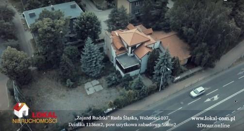 Lokal Ruda Śląska Centrum. Restauracja, Hotel Blisko Dtś, ul. Zabrzańska. 3 Sale konsumpcyjne. 15 Miejsc parkingowych.