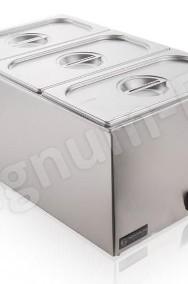 Bemar podgrzewacz elektryczny bufet grzewczy 3x GN1/3 pokrywki-2