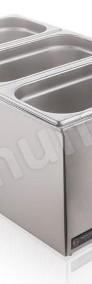 Bemar podgrzewacz elektryczny bufet grzewczy 3x GN1/3 pokrywki-3