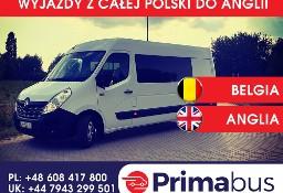 Busy do Anglii - wyjazdy z Łodzi i okolic