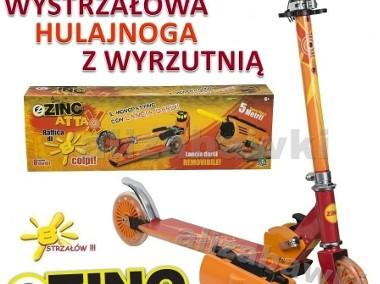 Zinc Attax Blaster Wyrzutnia Super Hulajnoga Dwukołowa-1