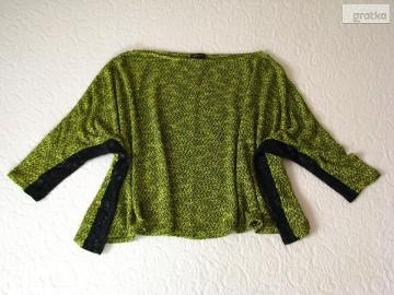 Luźny sweterek, narzutka, oversize nietoperz RIVER ISLAND, S/M/L
