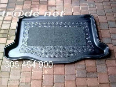 HONDA JAZZ III od 09.2015 r. mata bagażnika - idealnie dopasowana do kształtu bagażnika Honda Jazz-1