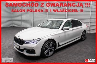 BMW SERIA 7 740 LONG + M Pakiet + H/K + Salon PL + 1 WŁ + 100% Serwis BMW !!!