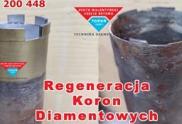 Regeneracja Naprawa wiertła koronowego diamentowego otwornicy